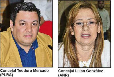 Concejales de CDE buscan frenar la verificación del Tribunal de Cuentas