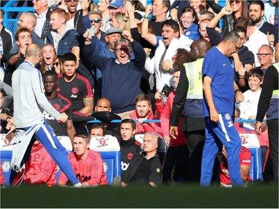 A Mourinho le gritaron el empate en la cara y así reaccionó