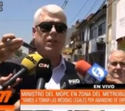 """Obras del metrobús quedan oficialmente """"abandonadas"""""""
