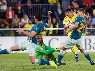 Oblak salva un punto para el Atlético ante el Villarreal