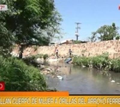 Hallan el cuerpo de una mujer a orillas de un arroyo en Asunción