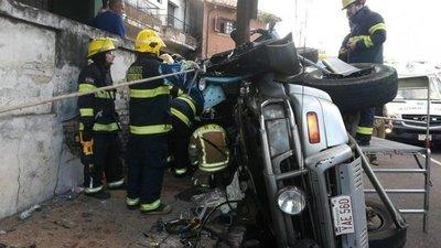 Accidente deja cinco heridos