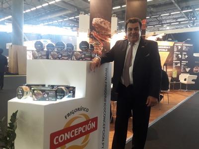 Concepción presente en la Feria de SIAL buscando nuevos mercados para la carne paraguaya