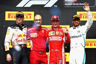 Raikkonen gana y hace esperar a Hamilton