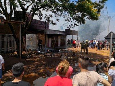Incendio en local comercial deja cuantiosas pérdidas económicas