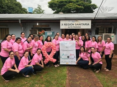 Prevén cierre de Octubre Rosa con asistencia integral en Alto Paraná
