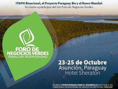 Banco Mundial e Itaipú organizan foro internacional de negocios verdes