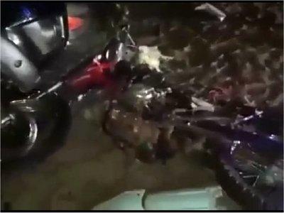 Joven motociclista murió en accidente de tránsito