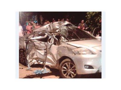 Tres personas murieron en un brutal accidente en Misiones