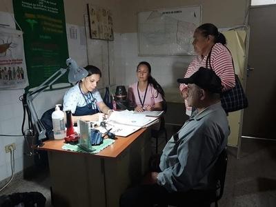 Pobladores de Cerrito acceden a servicios médicos