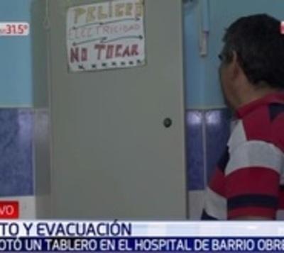 Explota tablero del Hospital de Barrio Obrero