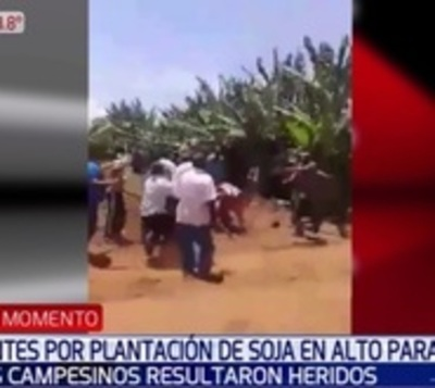 Cuatro heridos tras enfrentamiento entre campesinos