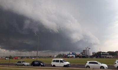 Alertan sobre posible tormentas eléctricas para este martes