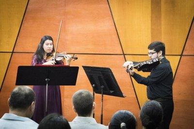 Culmina ciclo de música para violín