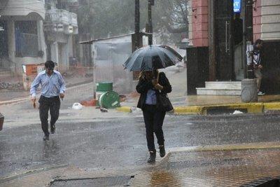 Alerta por tormentas en seis departamentos