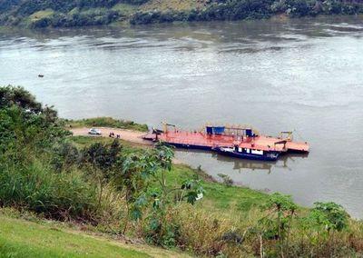 Buscan reactivar balsa Franco-Puerto Meira