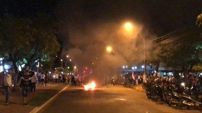 Incidentes en Concepción