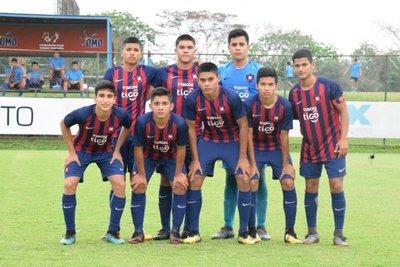 Sub 15: Cerro jugó con ocho futbolistas