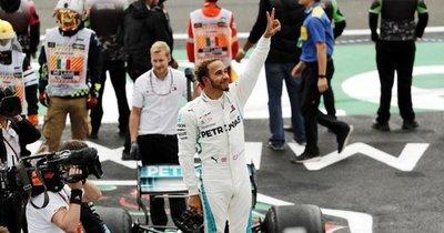 Lewis Hamilton logra el pentacampeonato