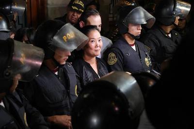 """Keiko Fujimori, """"sospechosa grave"""" de liderar organización criminal en Perú"""