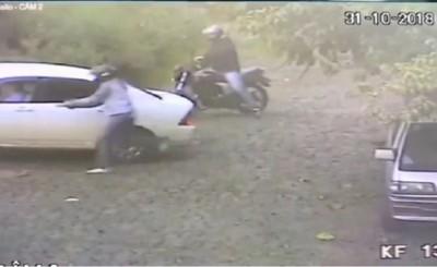 Intentan matar a cambista durante asalto