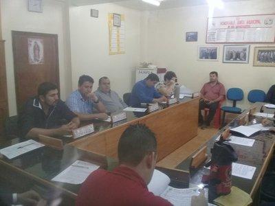 Inicio de sesión ordinaria de la Junta Municipal