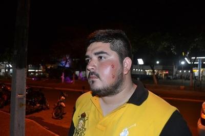 Represión y disturbios en manifestación ciudadana