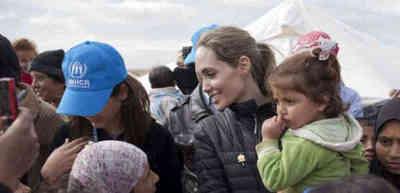 Angelina Jolie pide más ayuda para niños de Yemen