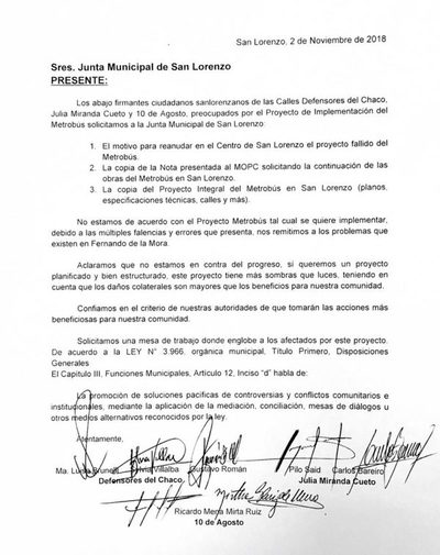 Metrobus: Piden no se repita lo de Fdo. de la Mora