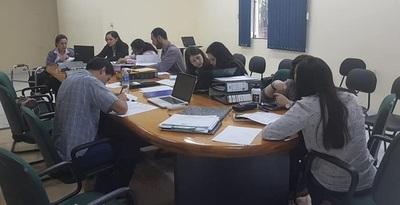 Verifican trabajo de investigación realizado en Facultad de Ciencias de la Salud-UNE