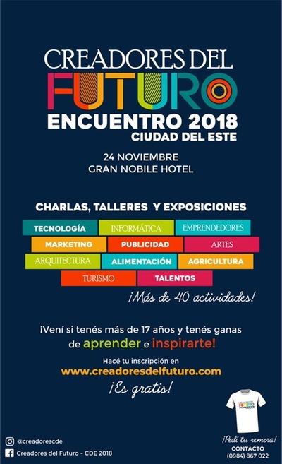 Creadores del Futuro llega por primera vez al Alto Paraná
