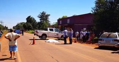 Sexagenario fallece en accidente de tránsito en el kilómetro 14 Monday