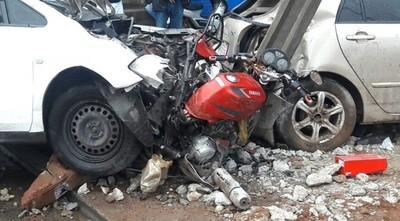Terapia para un accidentado en moto cuesta al Estado G. 300 millones