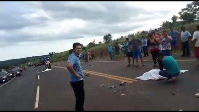 Cuatro personas fallecen en accidentes ocurridos en Yhu