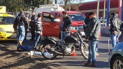 Policía frustra asalto a farmacia en Capiatá
