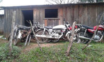 En procedimiento judicial-policial recuperan motos hurtadas