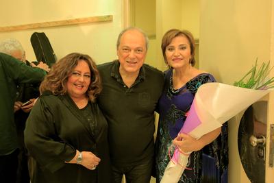 """Toquinho, María Creuza y Berta Rojas en """"El arte del encuentro"""" en Paraguay"""