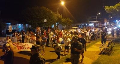 Manifestaciones no paran en Concepción