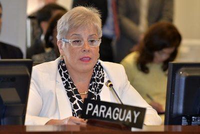 Una paraguaya lideró asamblea de la OEA