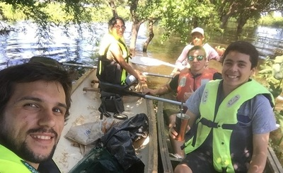 Jóvenes limpian la Costanera de Asunción para crear conciencia