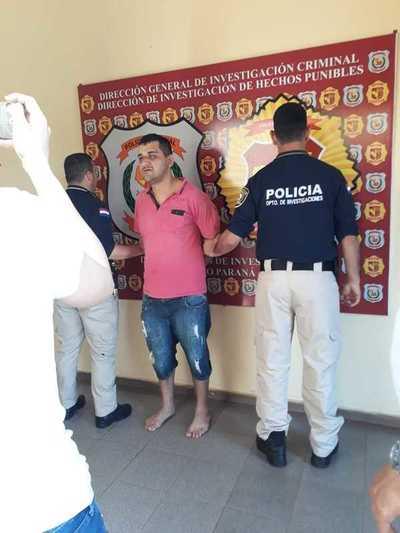 Cae uno de los más buscados por la Policía Nacional del Alto Paraná