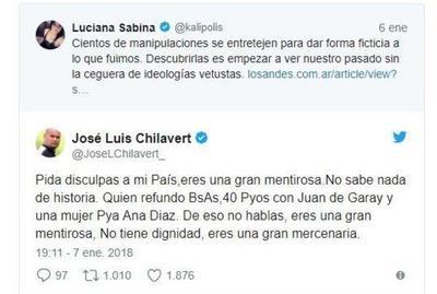 Chilavert exige a historiadora argentina pedir disculpas al Paraguay