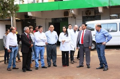Director de Yacyretá verificó obras en el Hospital Regional de Encarnación