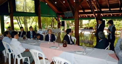 Empresarios japoneses visitaron la zona Yguazú con intensiones de invertir