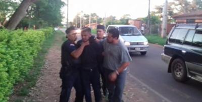 Balacera, asalto y persecución en Limpio – Prensa 5