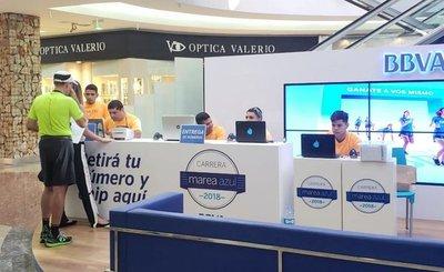 Corrida Marea Azul de BBVA inició la entrega de kits