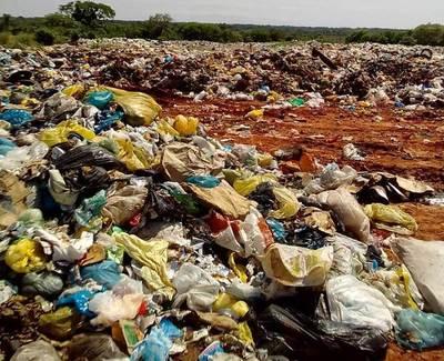 Calamitoso estado actual del botadero de basuras municipal