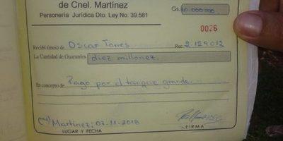 Denuncian venta de tanque donado por Itaipu a Junta de saneamiento de Coronel Martínez