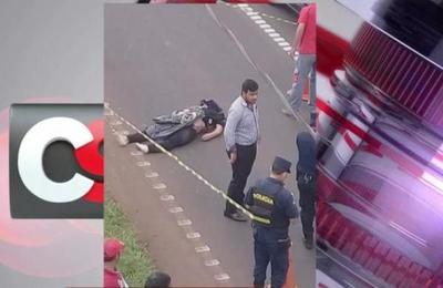 Fatal accidente sobre la Ruta 7