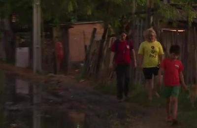 Vecinos de Trinidad están inundados en cloaca